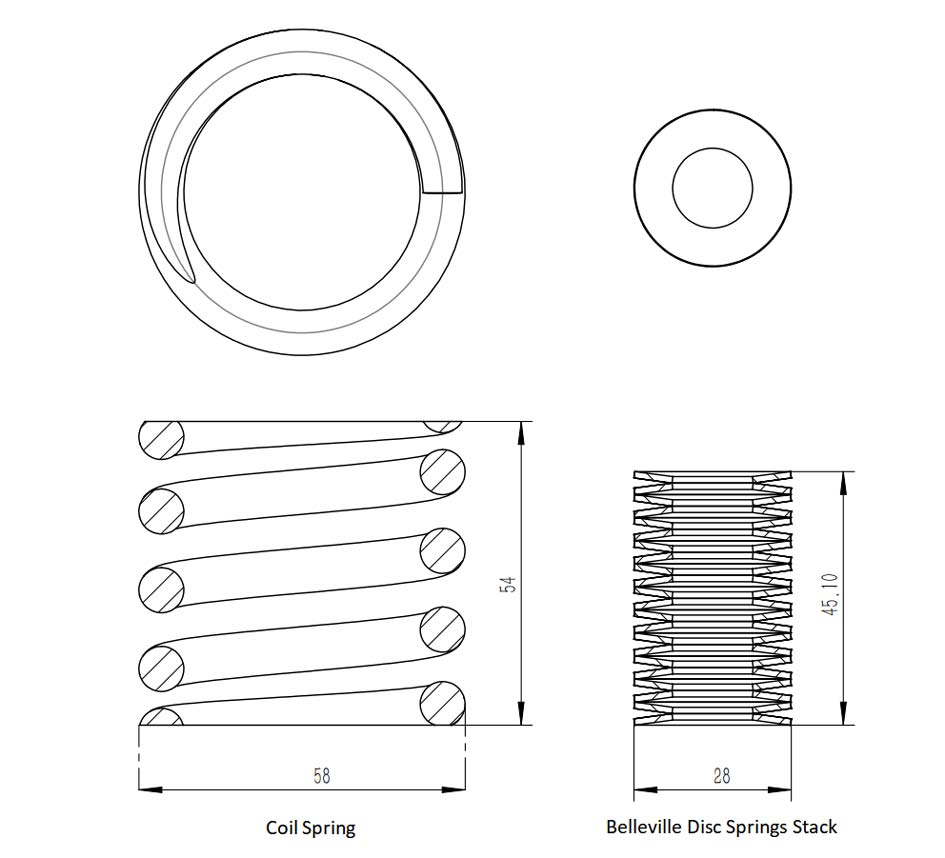 What is the Difference between Belleville Disc Springs and Coil Springs?cid=18